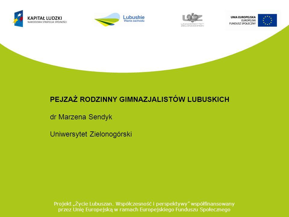 Projekt Życie Lubuszan.