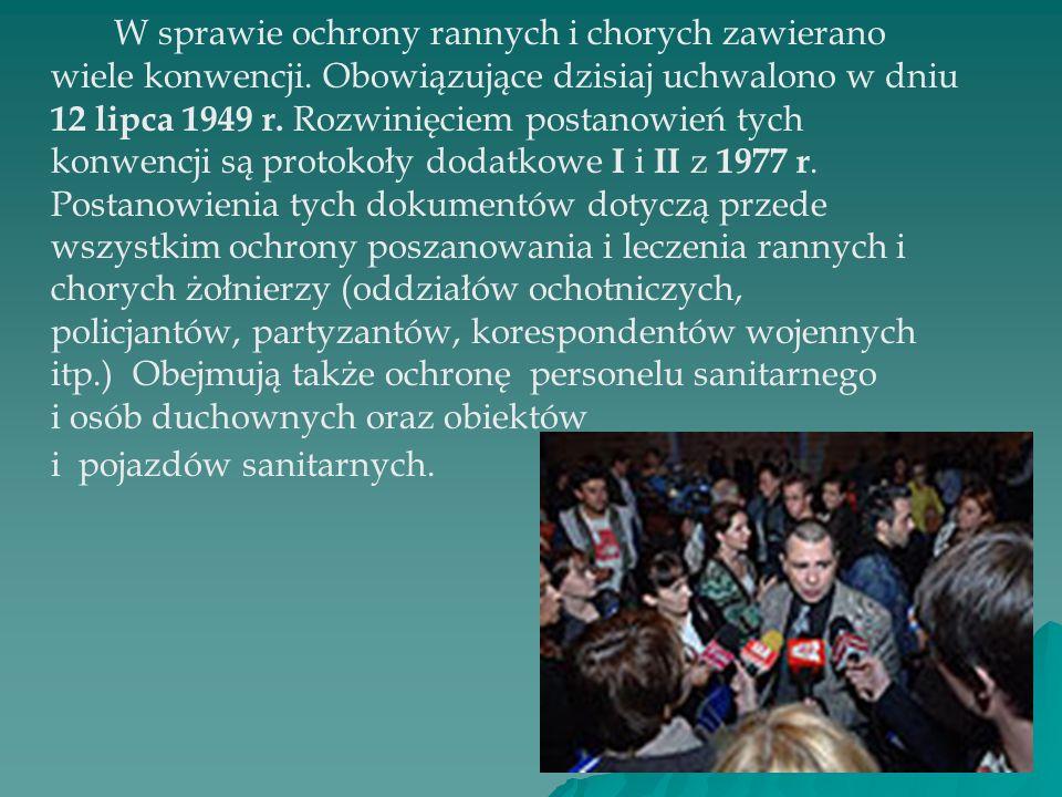 Ochrona rannych i chorych Milena Wojdyga kl. II b