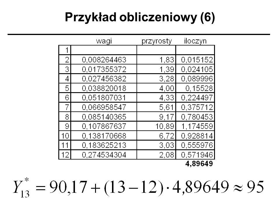 Przykład obliczeniowy (6)