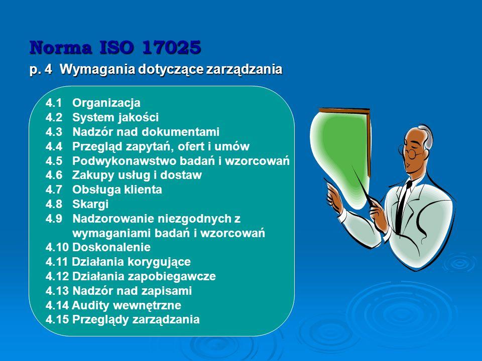 Co powinno zrobić laboratorium, by uzyskać akredytację … Wdrożyć system zarządzania jakością, dostosowany do warunków laboratorium, zgodny z normą Wdr