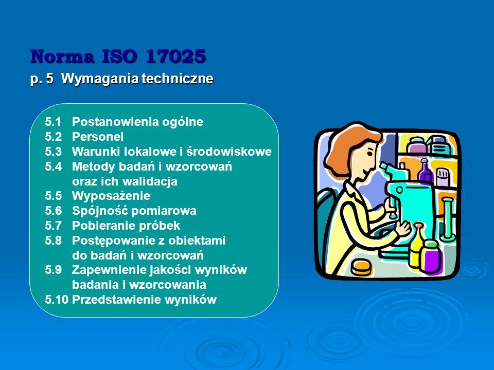 W punkcie 4 normy podane zostały wymagania dot. właściwego zarządzania laboratorium. W ramach przygotowania do akredytacji wymagania te należy potrakt