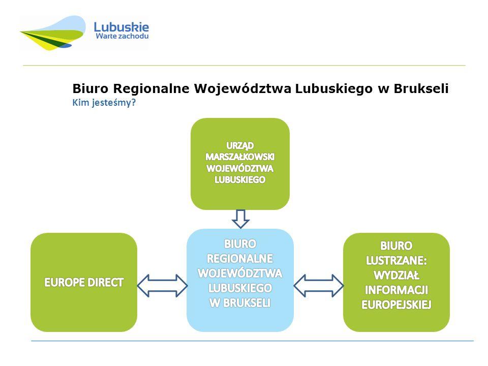 Biuro Regionalne Województwa Lubuskiego w Brukseli Gdzie się znajdujemy.