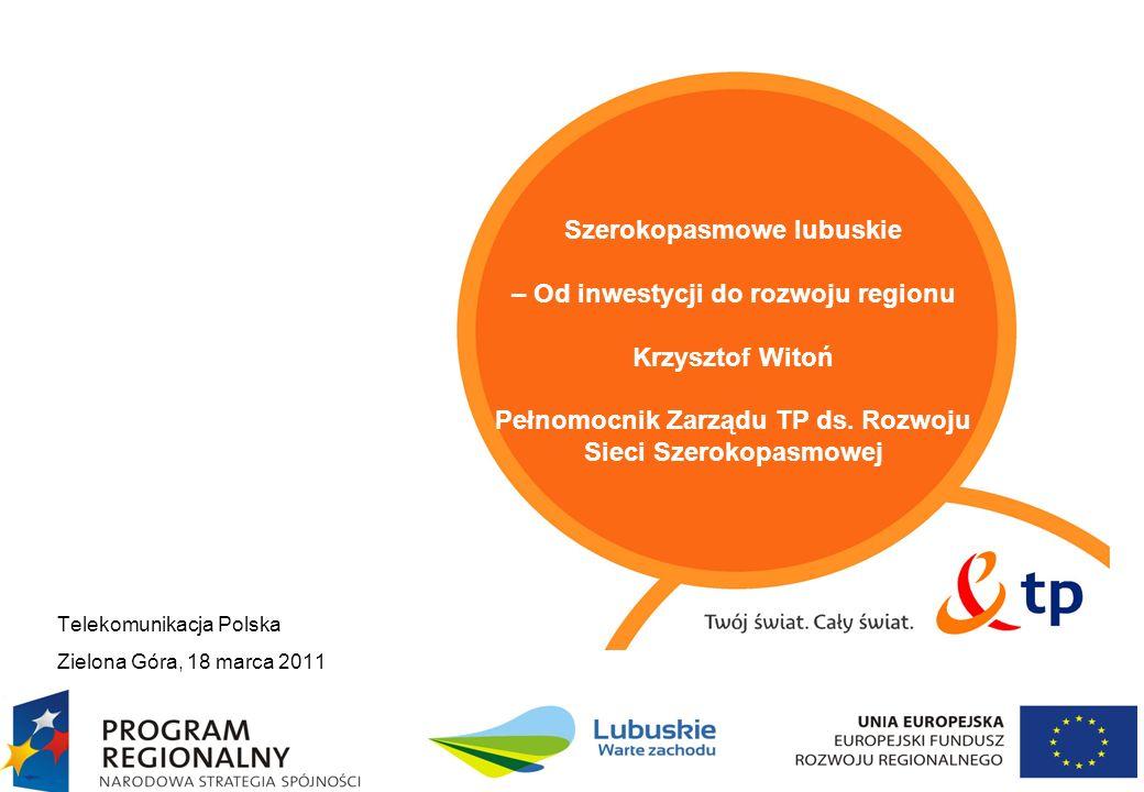 2 Agenda Lubuskie warte zachodu – wyjątkowy czas, miejsce i bezprecedensowy sposób finansowania Zakres projektu W jaki sposób realizacja projektu przełoży się na rozwój regionu