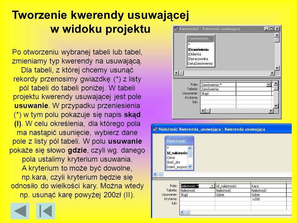 W oknie Baza danych kliknij opcję Makra znajdującą się w obszarze Obiekty.