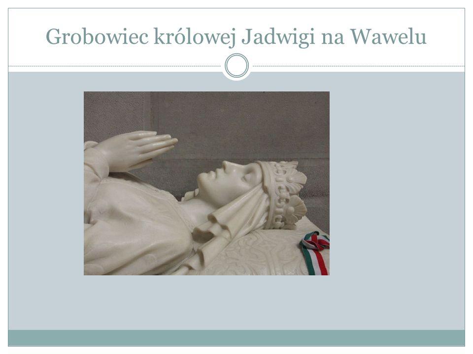 Grobowiec królowej Jadwigi na Wawelu