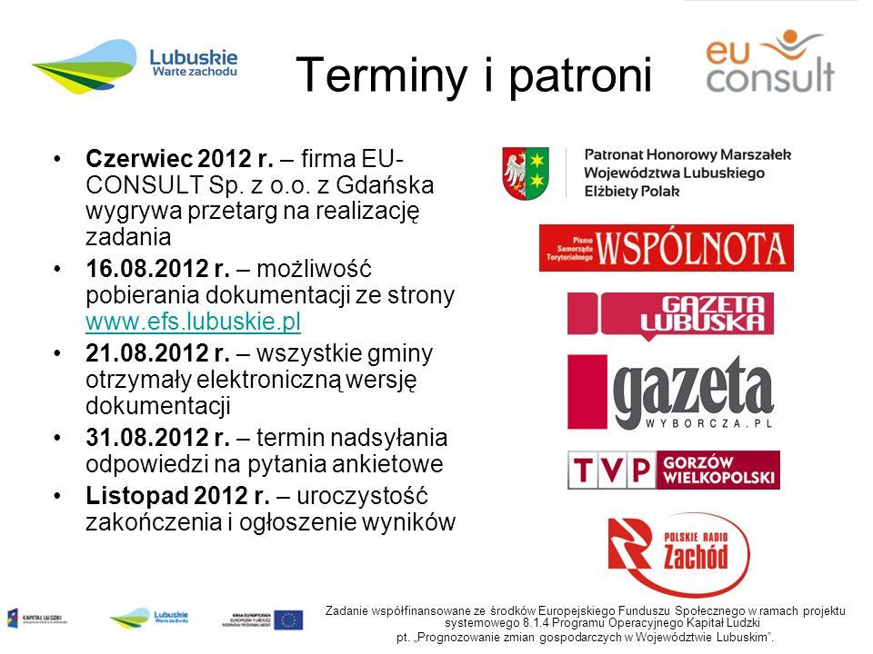 Terminy i patroni Czerwiec 2012 r. – firma EU- CONSULT Sp.