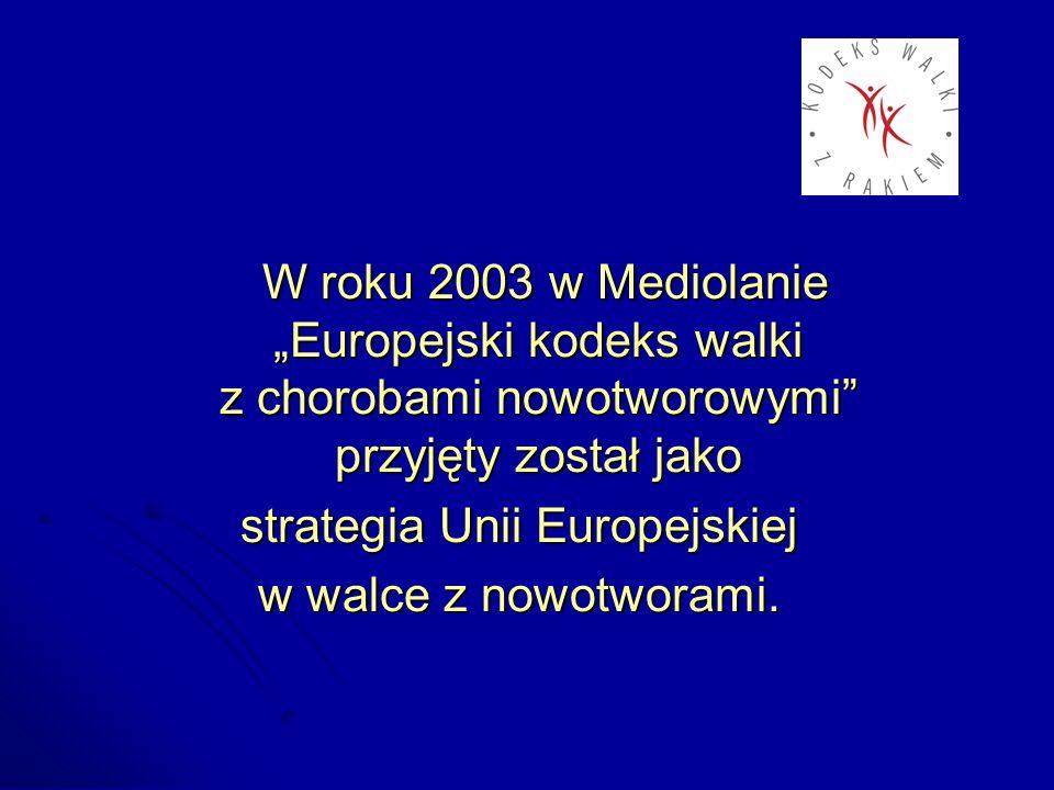 Rozszerzenie Unii Europejskiej zwiększa zróżnicowanie społeczności europejskiej pod względem: stylu życia oraz ryzyka zachorowań.