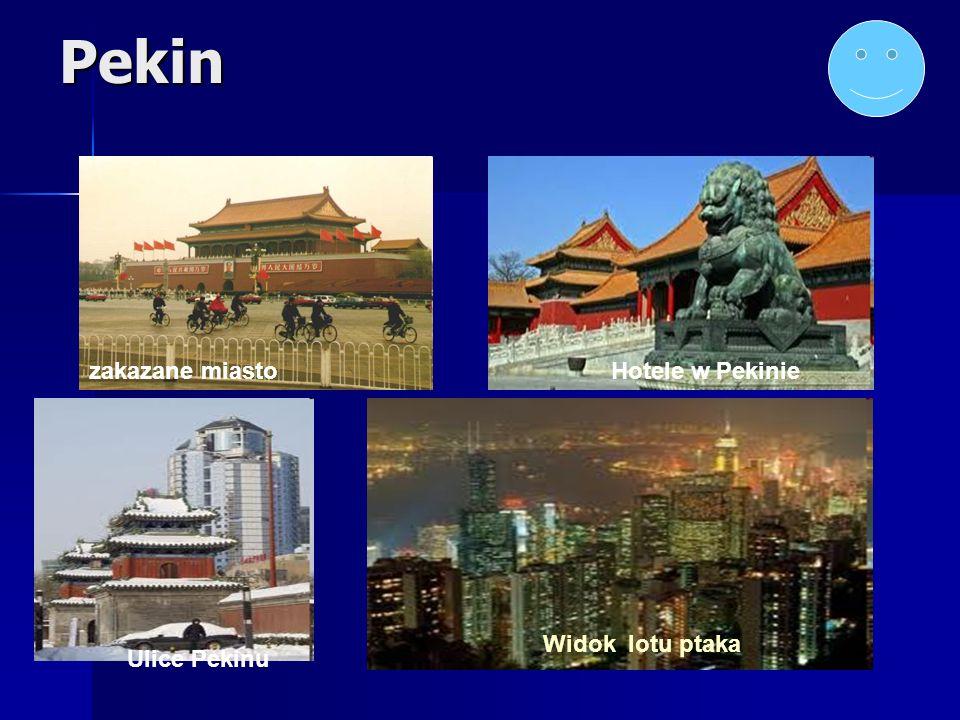 Pekin zakazane miastoHotele w Pekinie Widok lotu ptaka Ulice Pekinu