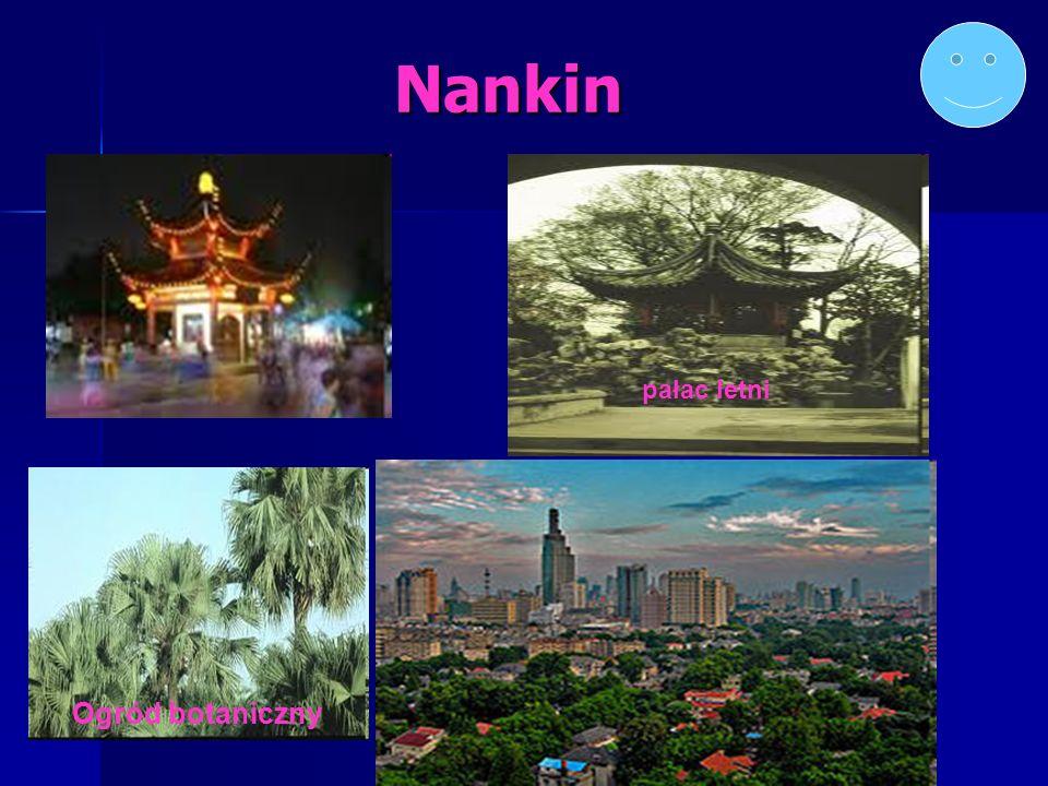 Nankin Ogród botaniczny pałac letni