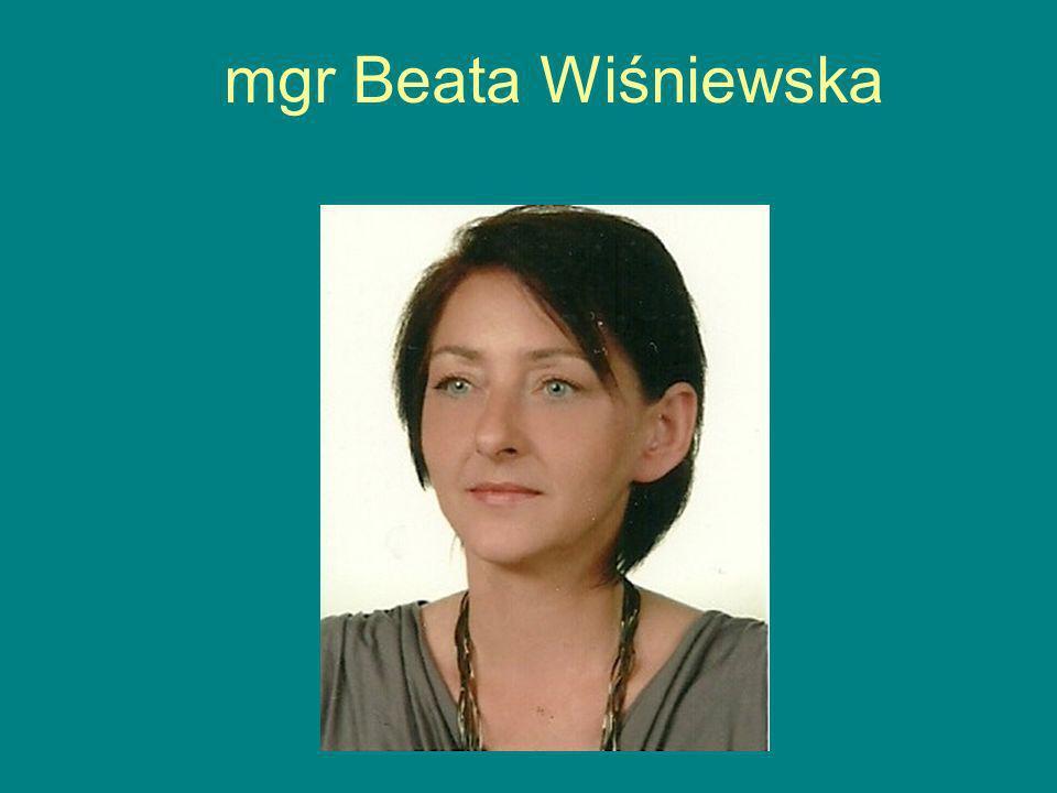 mgr Beata Wiśniewska