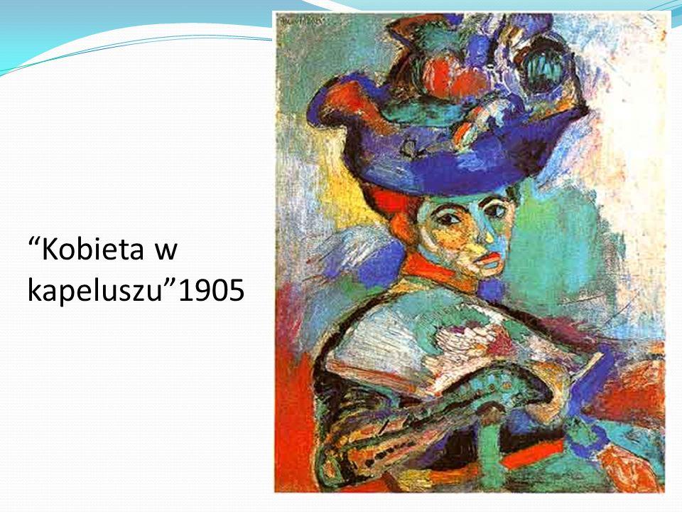 Kobieta w kapeluszu1905