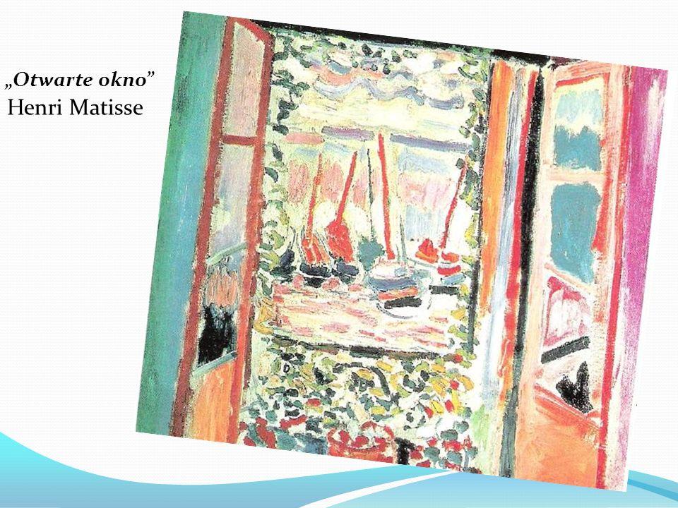 Otwarte okno Henri Matisse