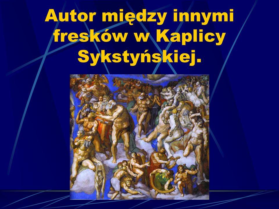 Główny temat rzeźb Michała Anioła stanowiła postać ludzka, w której artysta upatrywał głęboki sens.