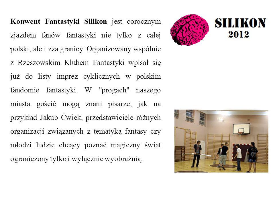 Konwent Fantastyki Silikon jest corocznym zjazdem fanów fantastyki nie tylko z całej polski, ale i zza granicy.
