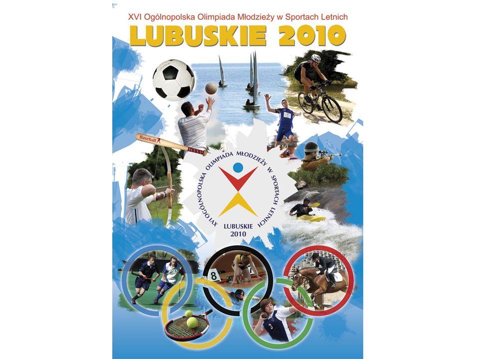 Dziękuję bardzo za pomoc i współpracę przy organizacji XVI Ogólnopolskiej Olimpiady Młodzieży w sportach letnich – Lubuskie 2010 Dziękuję za uwagę Bogusław Sułkowski Dyrektor XVI OOM - Lubuskie 2010