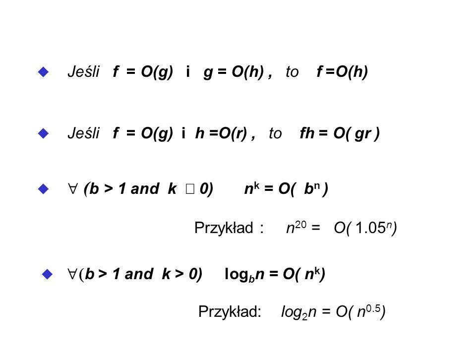 b, d > 1 ) log b n =O(log d n) n k r = ( n r+1 ) k=1