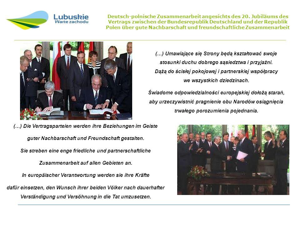(…) Die Vertragsparteien werden ihre Beziehungen im Geiste guter Nachbarschaft und Freundschaft gestalten.