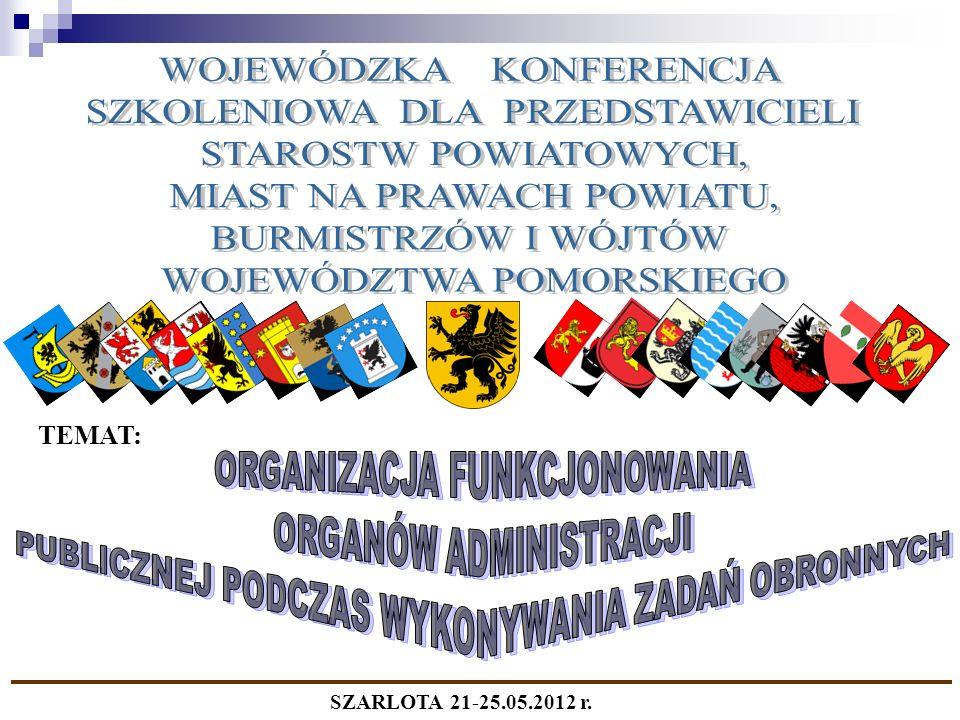 TEMAT: SZARLOTA 21-25.05.2012 r.