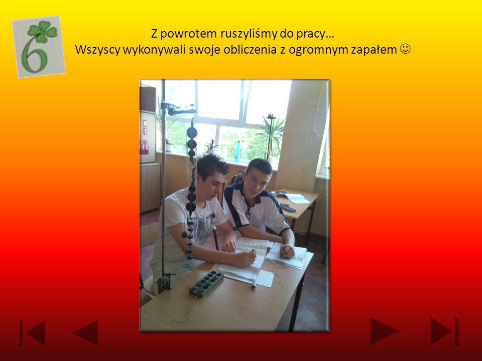 N ajszybszą N ajszybszą osobą, która wykonała poprzednio wymienione zadanie pisemne była Joanna Wiśniewska z klasy II A.