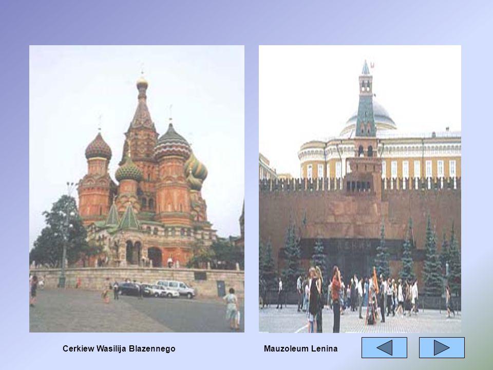 Cerkiew Wasilija BlazennegoMauzoleum Lenina
