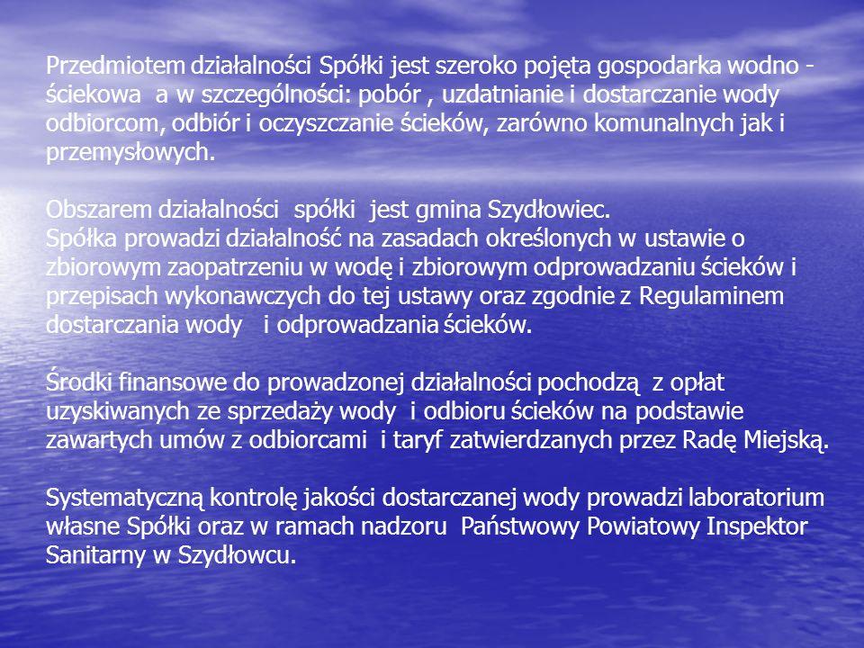 SUW Zdziechów i zbiorniki zasobowe wody