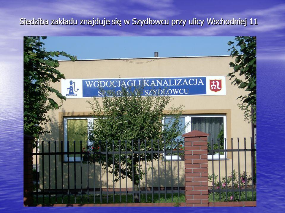 Siedziba zakładu znajduje się w Szydłowcu przy ulicy Wschodniej 11