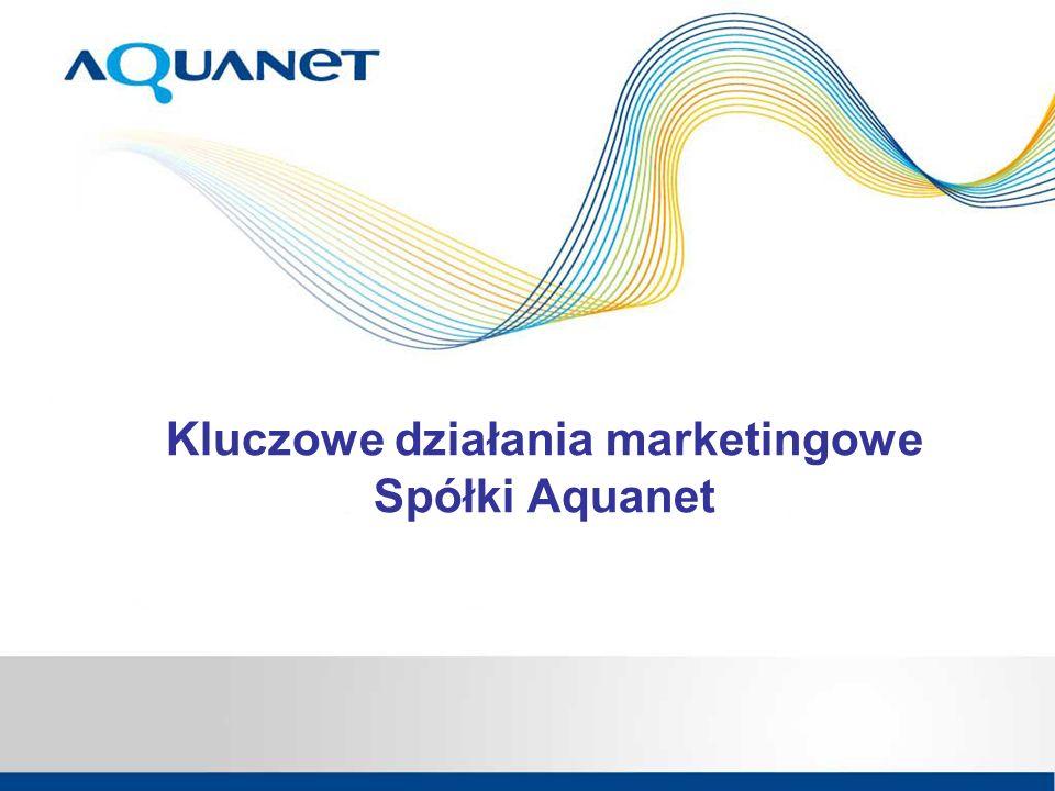 Kluczowe działania marketingowe Spółki Aquanet