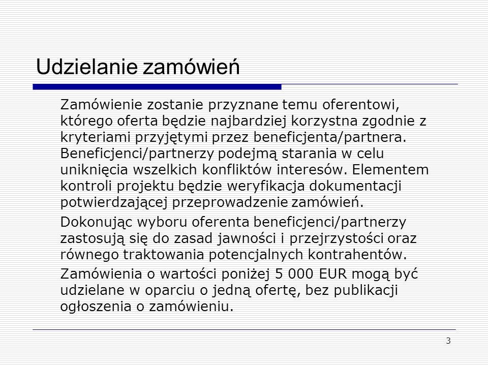 4 Udzielanie zamówień Podmioty objęte procedurami PZP Podmioty NIE objęte procedurami PZP Poniżej 5 000 brutto Jedna oferta (bez procedury) Od 5000 - do poniżej 14 000 netto Uproszczona procedura przetargowa Od 14 000 netto wzwyż Procedury PZPUproszczona procedura przetargowa
