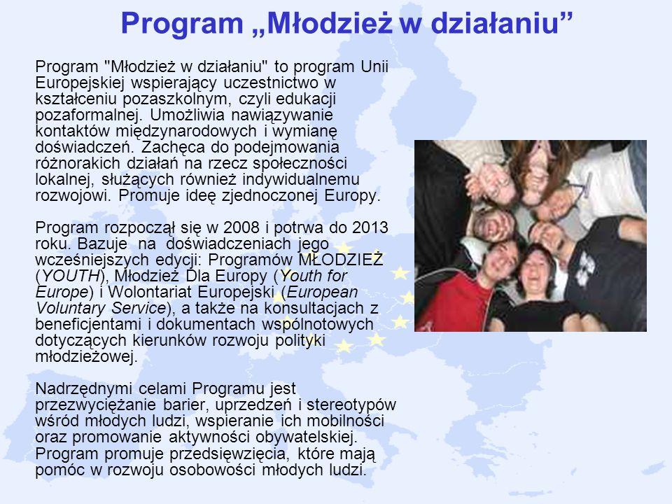 Program Młodzież w działaniu Program