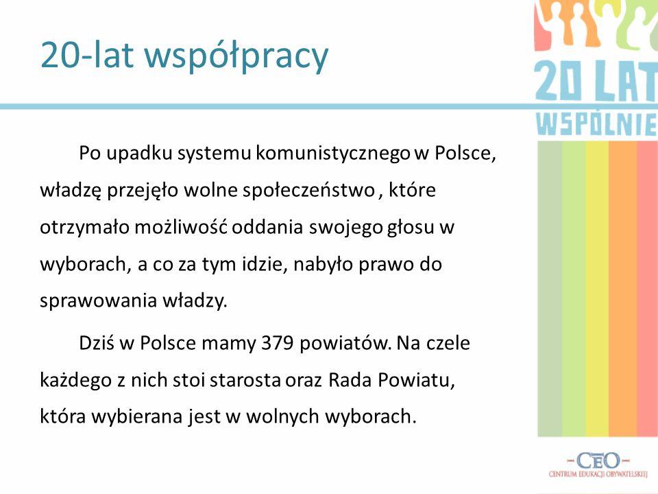 Po upadku systemu komunistycznego w Polsce, władzę przejęło wolne społeczeństwo, które otrzymało możliwość oddania swojego głosu w wyborach, a co za t