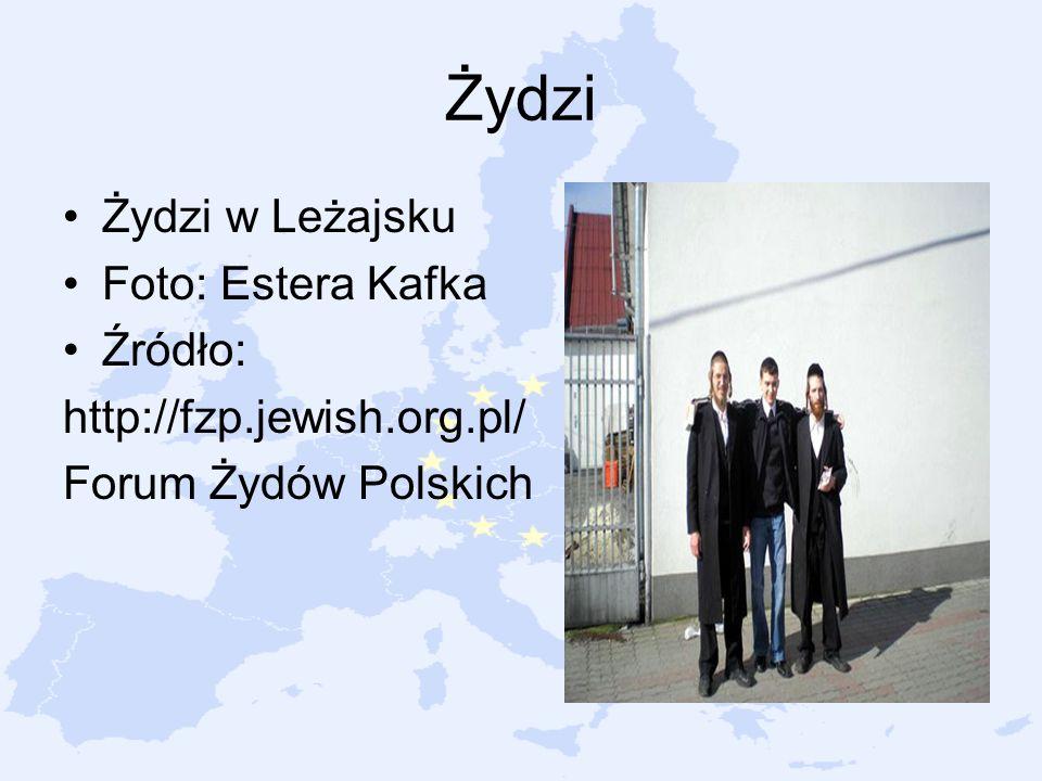 Żydzi Żydzi w Leżajsku Foto: Estera Kafka Źródło: http://fzp.jewish.org.pl/ Forum Żydów Polskich