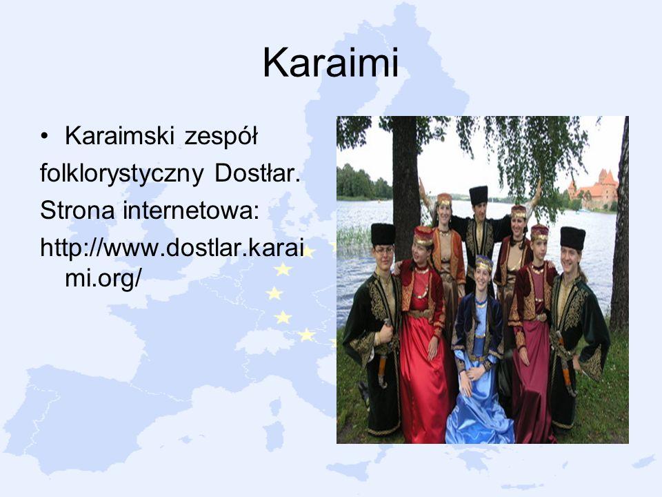 Karaimi Karaimski zespół folklorystyczny Dostłar. Strona internetowa: http://www.dostlar.karai mi.org/
