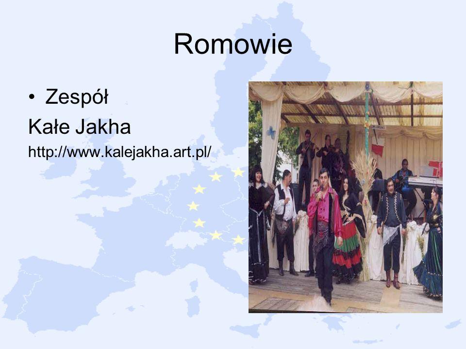 Romowie Zespół Kałe Jakha http://www.kalejakha.art.pl/
