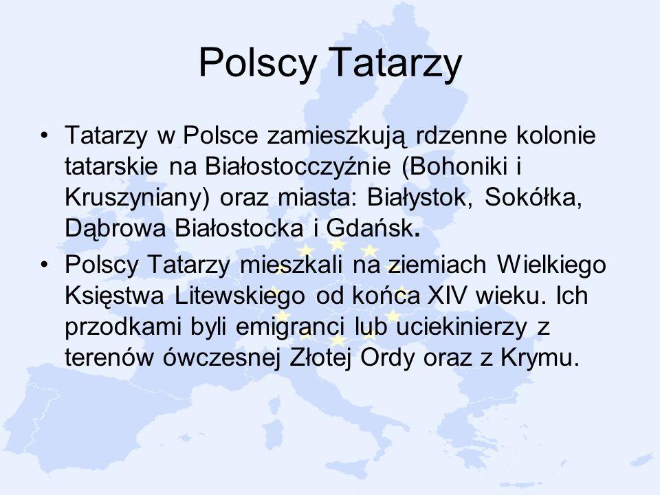 Polscy Tatarzy Tatarzy w Polsce zamieszkują rdzenne kolonie tatarskie na Białostocczyźnie (Bohoniki i Kruszyniany) oraz miasta: Białystok, Sokółka, Dą