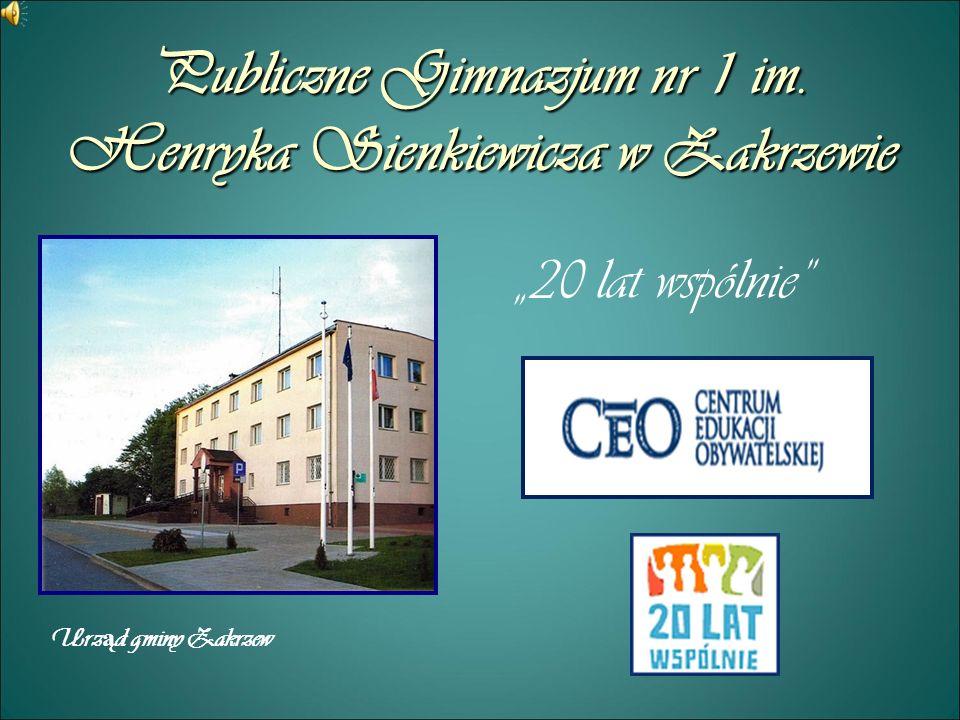 Obecne oblicze gminy W tym roku obchodzimy dwudziestą rocznicę upadku systemu komunistycznego w Polsce.