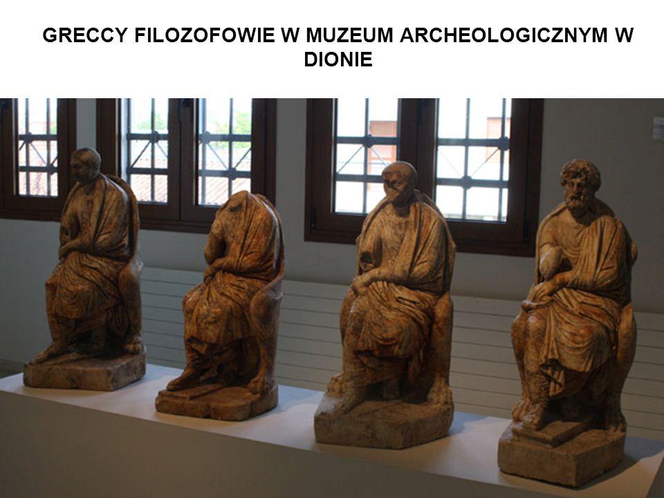 GRECCY FILOZOFOWIE W MUZEUM ARCHEOLOGICZNYM W DIONIE