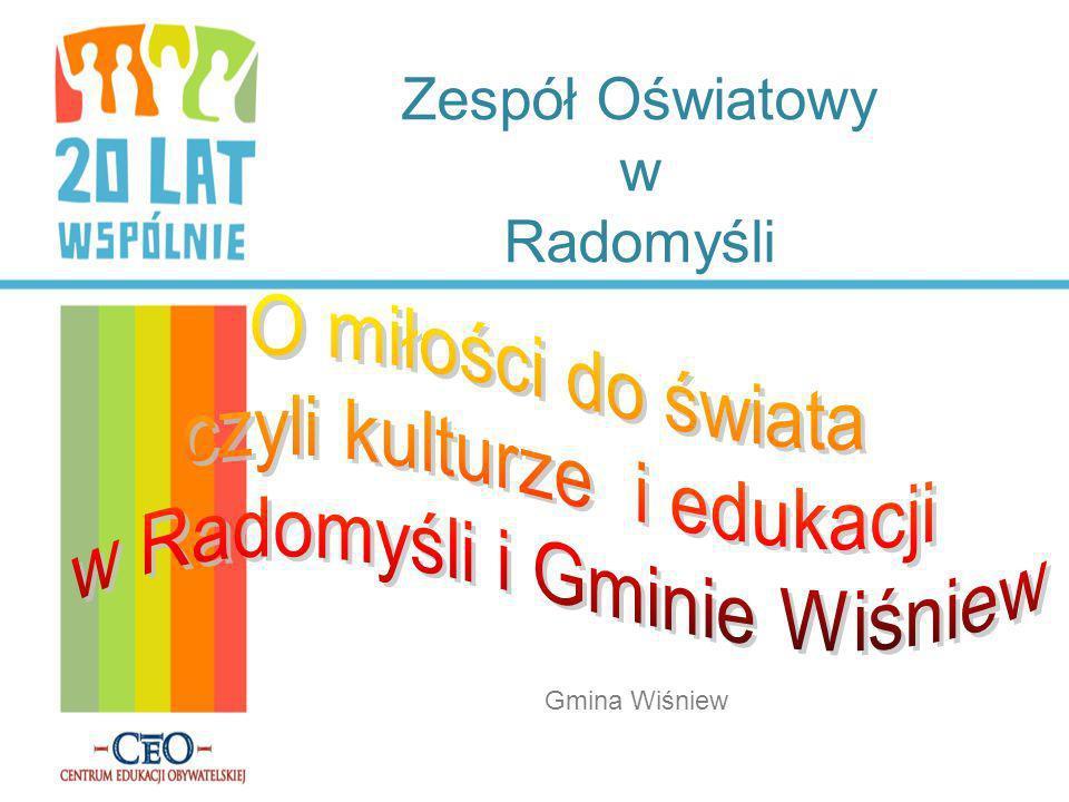 Zespół Oświatowy w Radomyśli Gmina Wiśniew