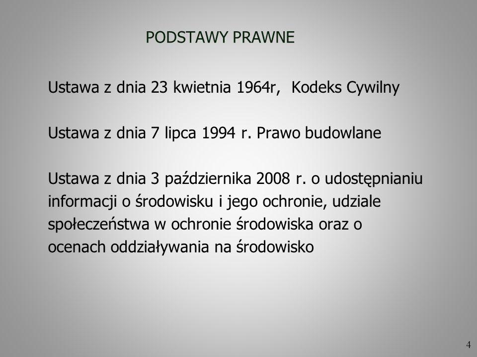25 CZĘŚĆ INFORMACYJNA PFU Część informacyjna PFU zgodnie z § 19 punkt 4) Rozporządzenia MI z 2 września 2004 r.
