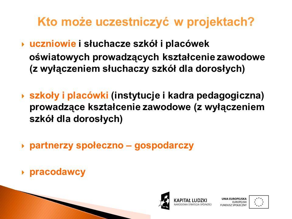 Działanie 9.2 w województwie podlaskim: Możliwość objęcia wsparciem uczniów kształcących się na wszystkich kierunkach bez ograniczania do konkretnych branż.