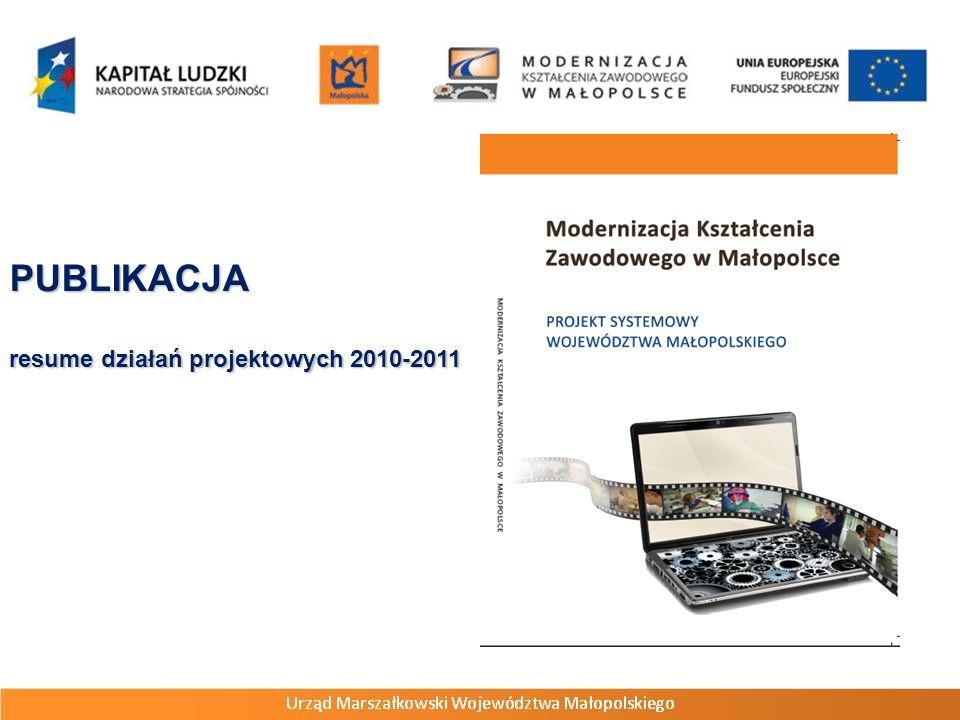 PUBLIKACJA resume działań projektowych 2010-2011