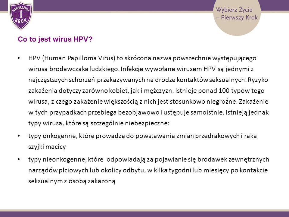 HPV (Human Papilloma Virus) to skrócona nazwa powszechnie występującego wirusa brodawczaka ludzkiego. Infekcje wywołane wirusem HPV są jednymi z najcz