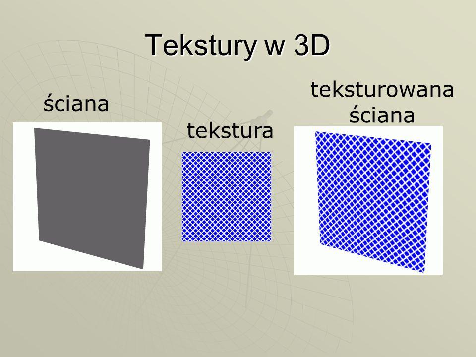 Tekstury w 3D ściana tekstura teksturowana ściana