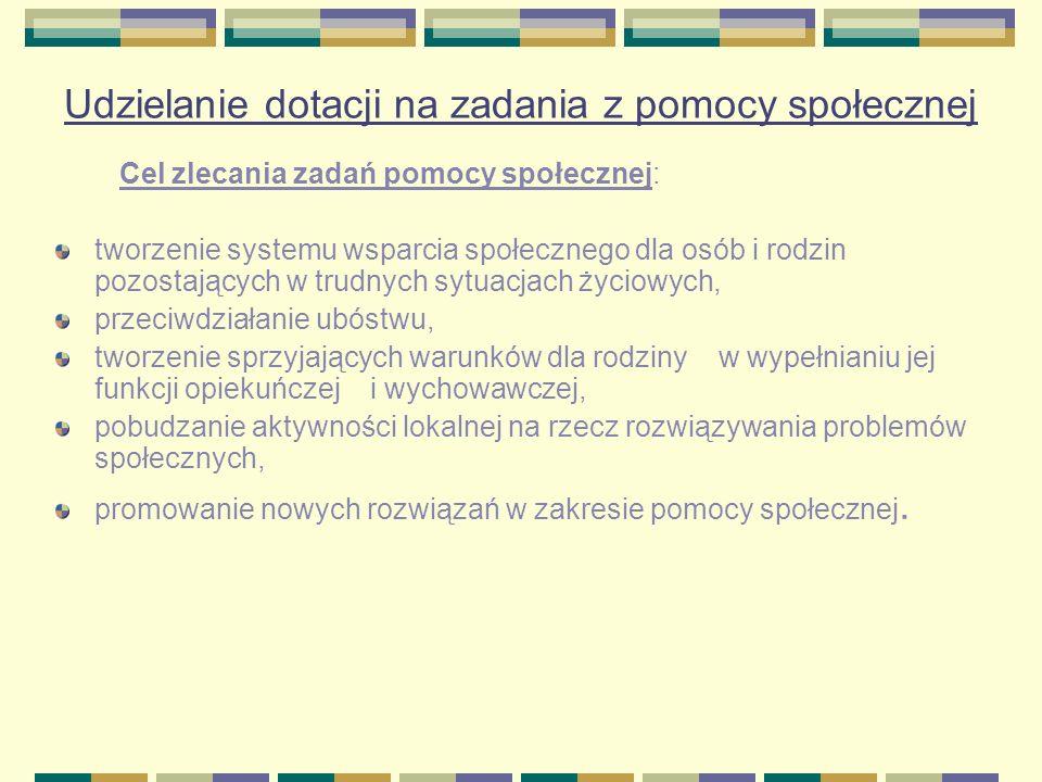 Liczba organizacji pozarządowych z województwa lubelskiego, które skorzystały z dotacji na realizację zadań pomocy społecznej Ogółem wpłynęło 297 ofert (139 organizacji pozarządowych) zawarto 142 umowy ze 114 organizacjami pozarządowymi