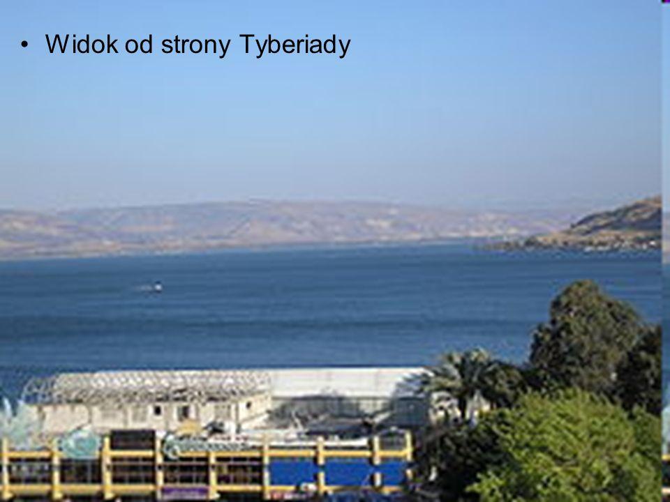 Widok od strony Tyberiady