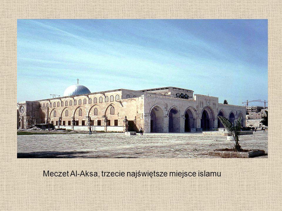 Meczet Al-Aksa, trzecie najświętsze miejsce islamu