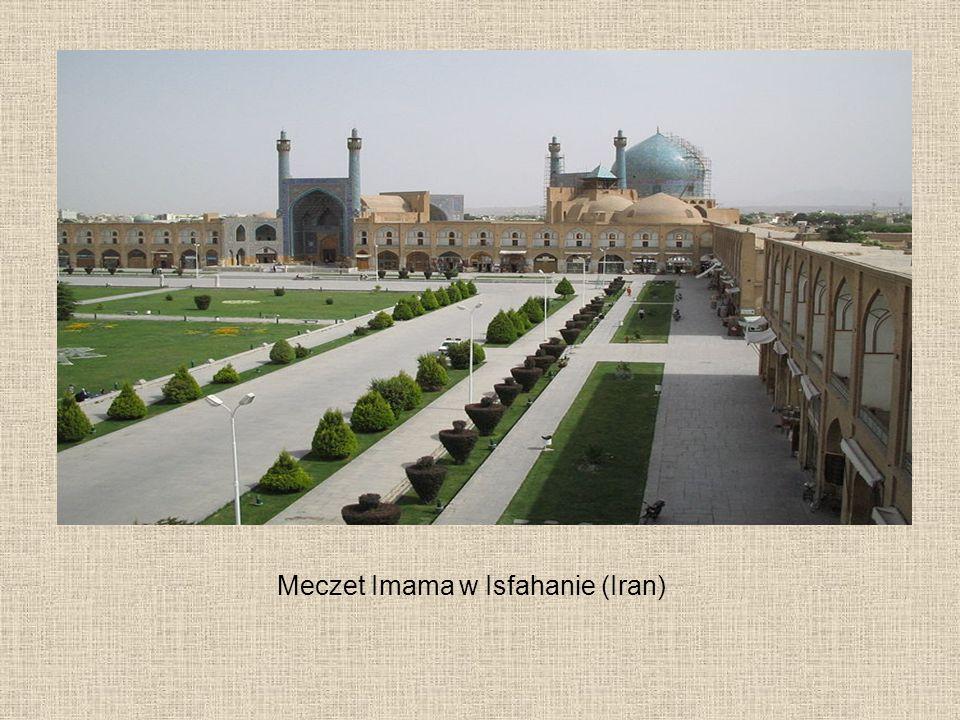 Meczet Imama w Isfahanie (Iran)