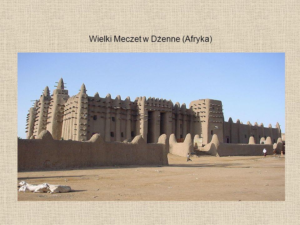 Wielki Meczet w Dżenne (Afryka)