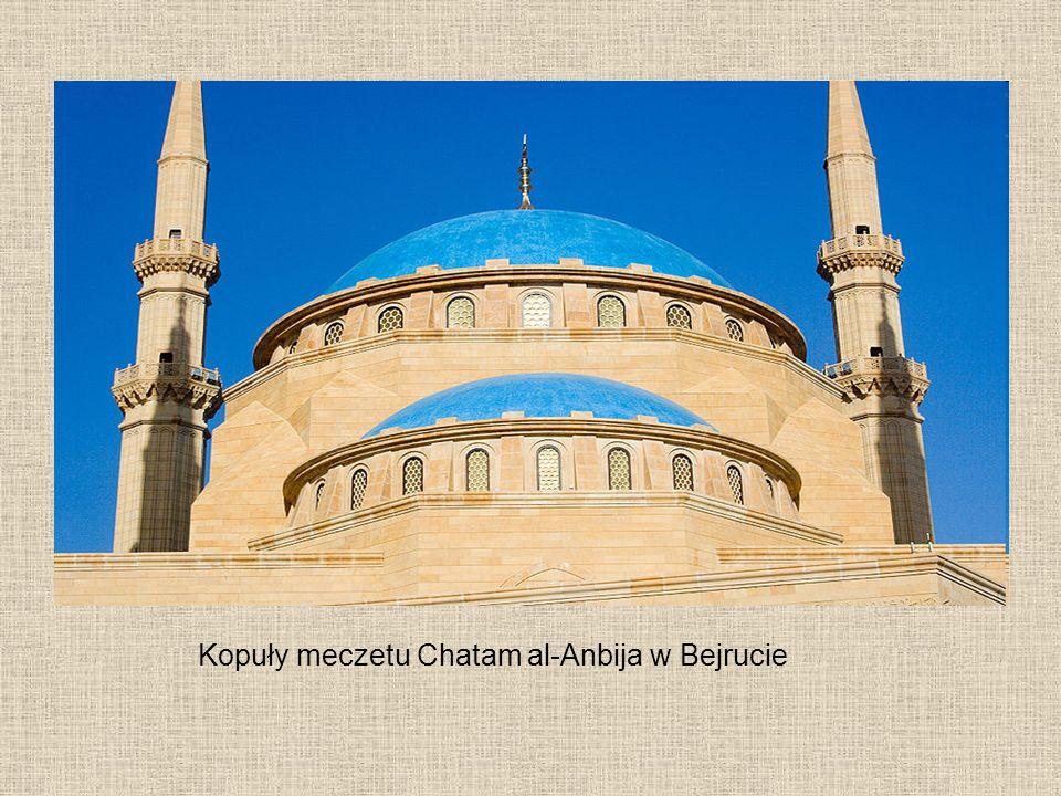 Kopuły meczetu Chatam al-Anbija w Bejrucie