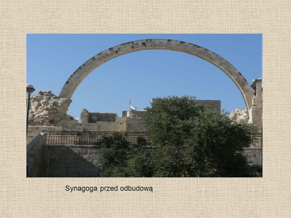 Synagoga przed odbudową