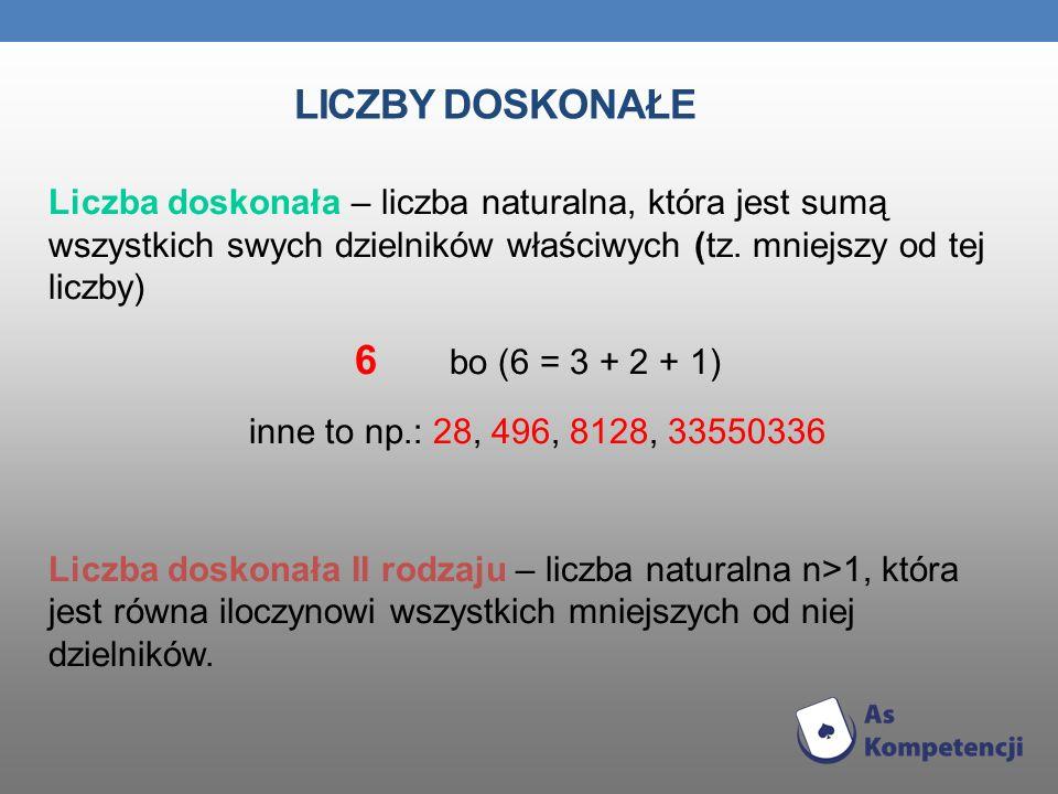 LICZBY WZGLĘDNIE PIERWSZE Liczby, które nie mają wspólnego dzielnika nazywamy liczbami względnie pierwszymi.